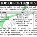 Social Development Organization Muzaffargarh Jobs