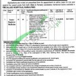 Rawalpindi Medical College & Allied Hospitals Jobs