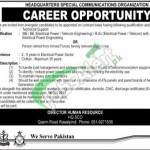 Headquarters Special Communication Organization Jobs