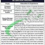 Sialkot Airport Jobs