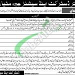 District & Session Court Matiari Jobs