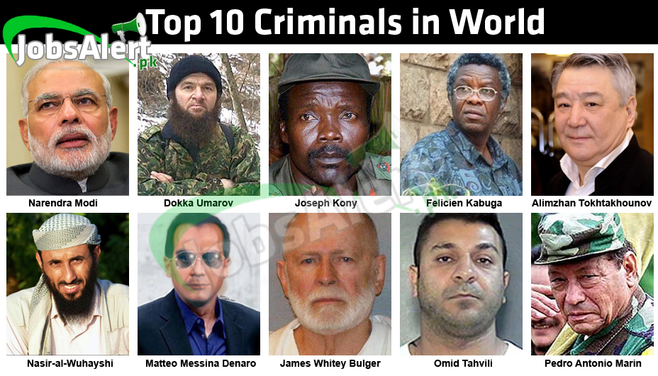 To 10 Criminals