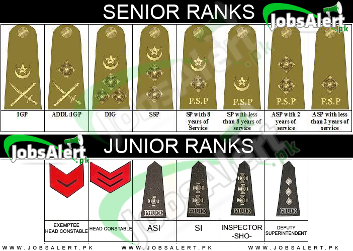 Police Officer Ranks / Badges