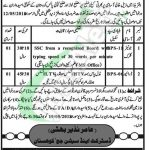 District and Session Court Kohistan Jobs
