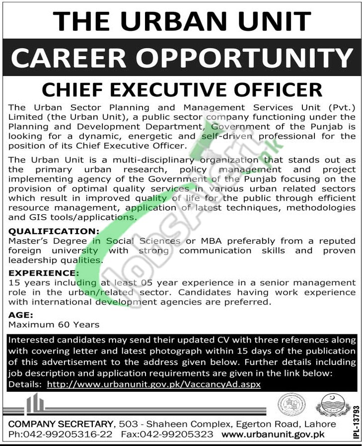 View Full Size: Click Here  Chief Executive Officer Job Description