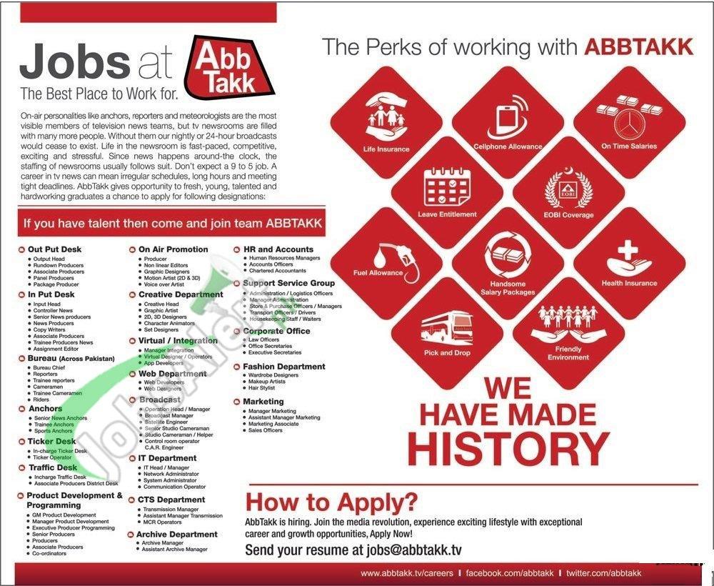 ABB TAKK News Jobs