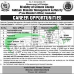 National Disaster Management Authority Jobs
