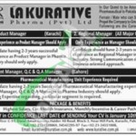 Recruitment Opportunities in LA Kurative Pharma Pvt Ltd Karachi