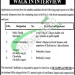 Jobs in Punjab Economic Research Institute