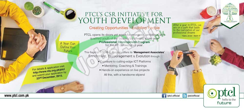 PTCL One year Internship Program