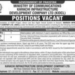 Karachi Infrastructure Limited Company Jobs 2016