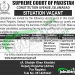 Supreme Court Jobs Latest Online