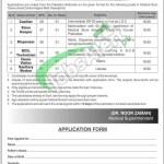 FG Tuberculosis Centre Rawalpindi Jobs