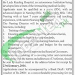 Lady Reading Hospital Job for Nursing Director 2016