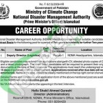 Latest Advertisement for Deputy Director in Ministry of Climate Change 2016