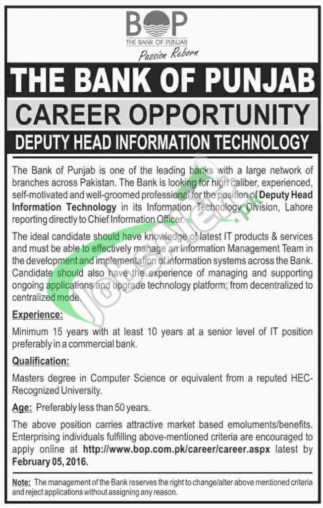 Punjab Bank Jobs