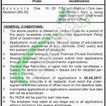 Finance Department Punjab Jobs