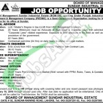 Recruitment Offers in Sundar Industrial Estate Company for Legal Advisor, Contracts Engineer, Superintendent