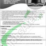 Vice Chancellor Job Opportunity in University of Veterinary and Animal Sciences Lahore 2016
