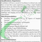Recruitment offer in Lady Reading Hospital for Medical Director Peshawar