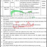 Directorate of Crop Reporting Services KPK Jobs