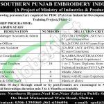 Southern Punjab Embroidery Industries SPEI Multan Jobs