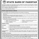 Employment Offers in SBP Karachi 28 February 2016 For Chief Legal Advisor Latest