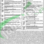 Situations Vacant in Bacha Khan University 29 February 2016 Charsadda Eligibility Criteria