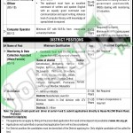 Situations Vacant in Health Department 2016 KPK NTS Jobs Application Form Latest Advertisement