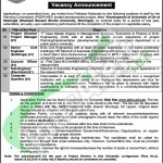 Situations Vacant in Shaheed Benazir Bhutto University 20 Feb 2016 KPK Latest Advertisement Application Form