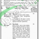 Situations Vacant in University of Veterinary & Animal Sciences 2016 Lahore Eligibility Criteria