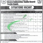 Heavy Industries Taxila Jobs