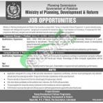 Ministry of Planning Development & Reform Islamabad Jobs