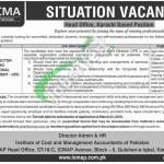 ICMAP Jobs