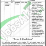 Situations Vacant in Communication Driven Local Department 1 March 2016 Shangla Govt of KPK Eligibility Criteria