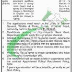 Punjab Wildlife and Parks Department Jobs