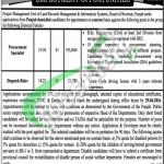 Board of Revenue Punjab Jobs