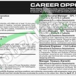Career Oportunities in Nizam Energy Company April 2016 For Managers Posts