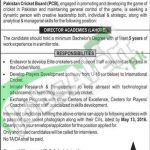 Pakistan Cricket Board Jobs April 2016 Career Opportunities