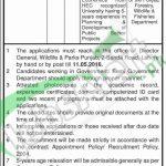 Wildlife & Parks Department Lahore