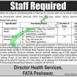 Directorate of Health Services FATA Jobs