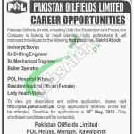 Pakistan Oil Fields Jobs