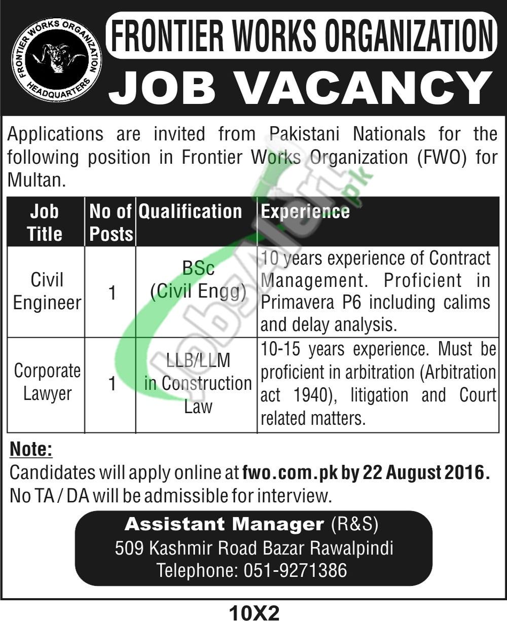 FWO Jobs