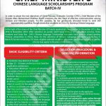 Chinese Language Scholarship 2017