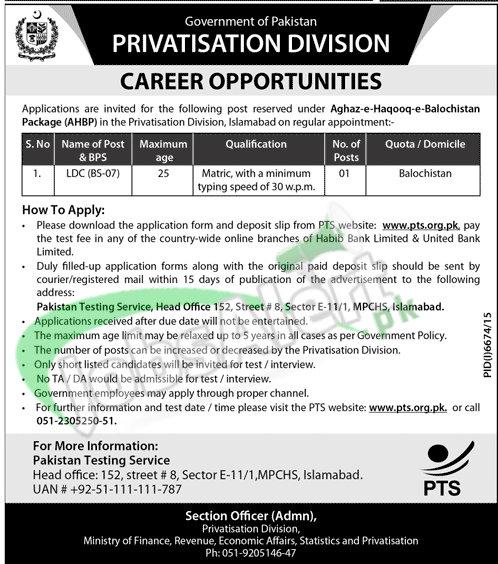 Privatization Division