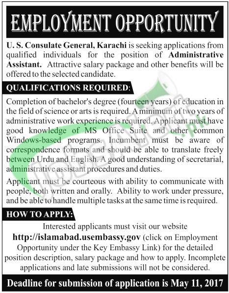US Consulate Karachi