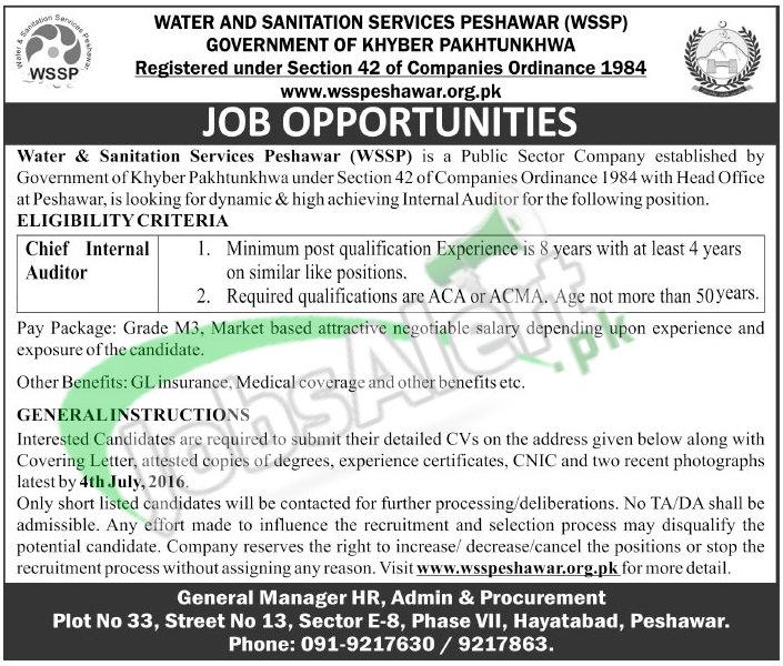 WSSP Jobs