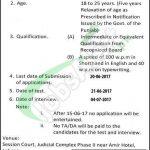 Anti Corruption Court Lahore Jobs