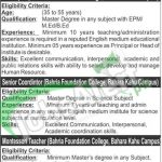 Bahria Foundtaion College