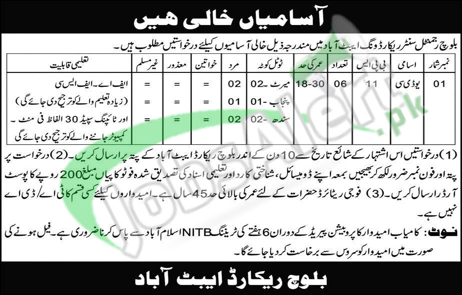 how to join pak army for females after intermediate 2017